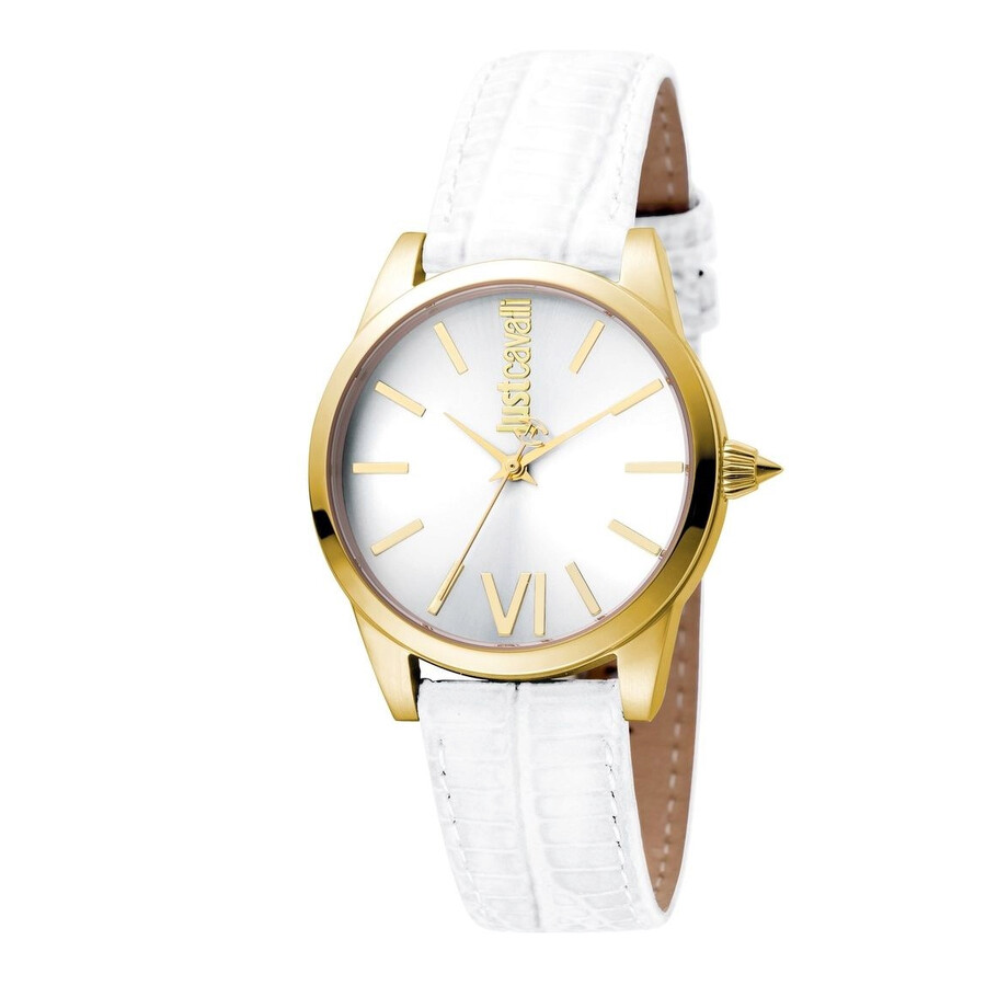 Just Cavalli Relaxed Silver Dial Ladies Watch JC1L010L0055 - Just ... 51a878a16b