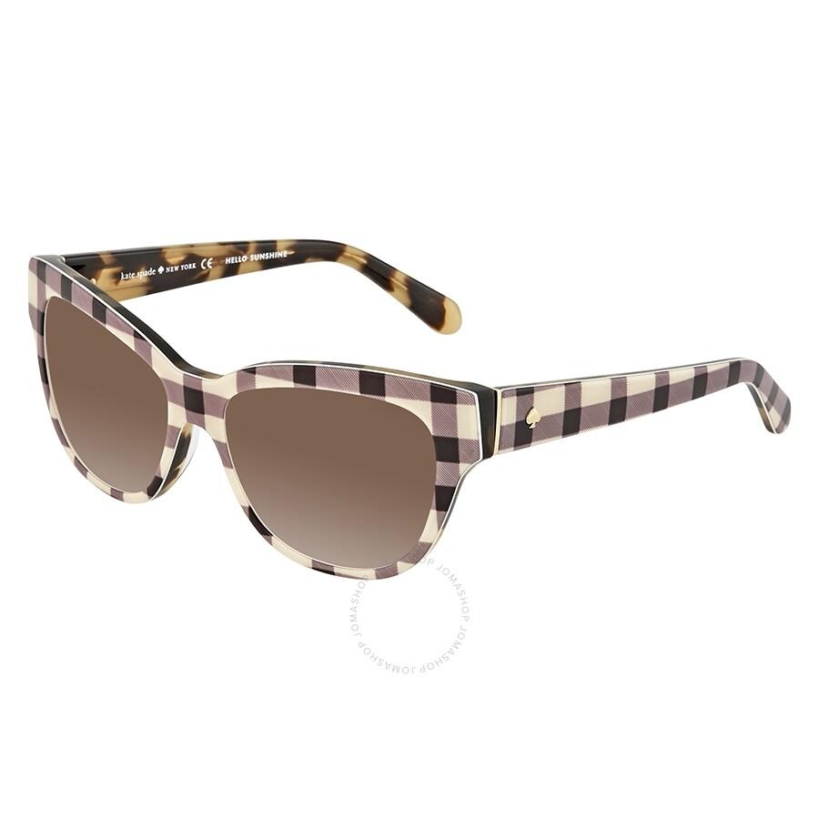 2eefd90fed1 Kate Spade Aisha Brown Gradient Cat Eye Ladies Sunglasses AISHAS 006G 54 ...