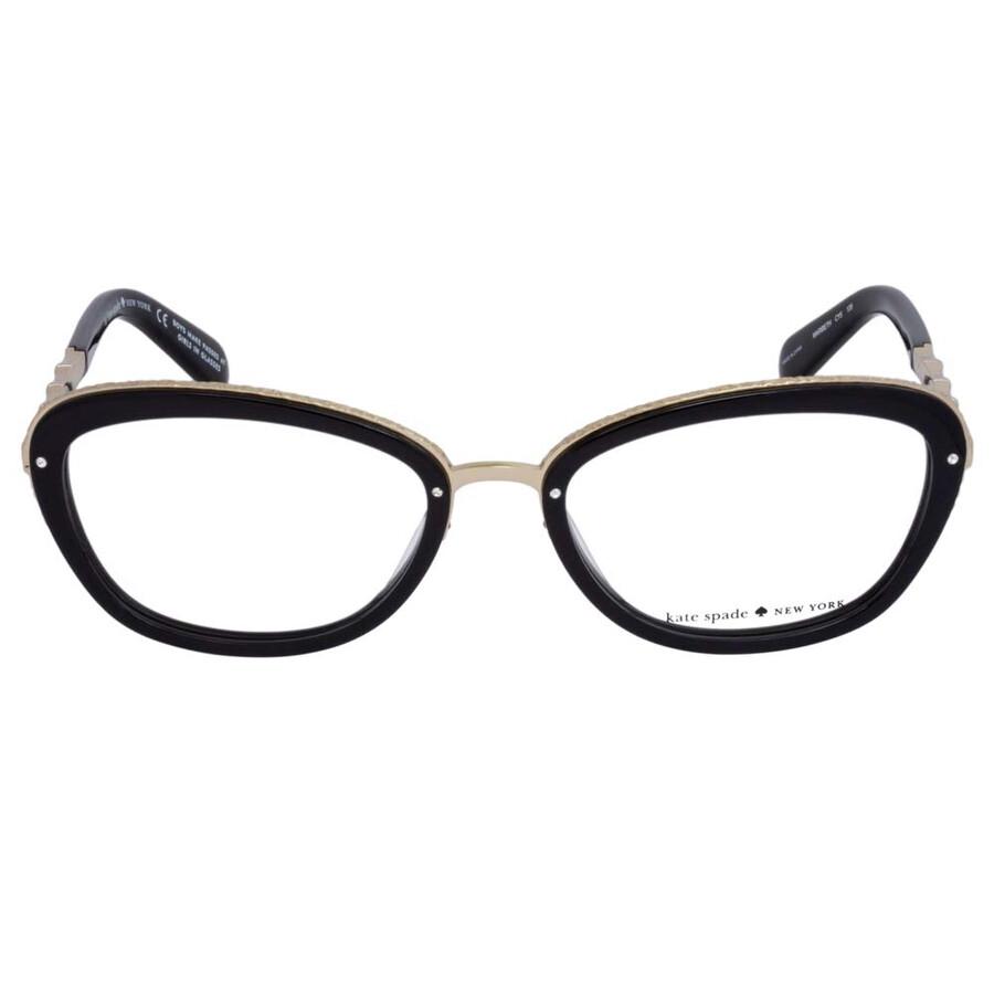 c82286dc7e Kate Spade Black Eyeglasses MARIBETH CY5 52 - Kate Spade ...