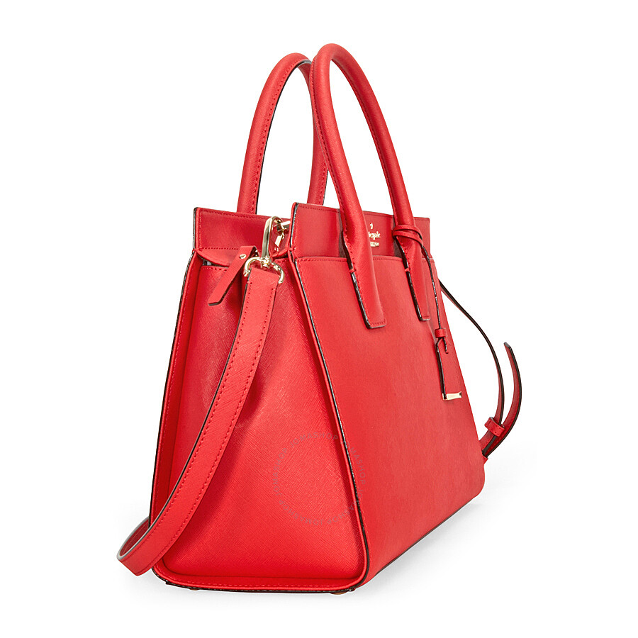 Kate Spade Cameron Street Candace Satchel Rooster Red Kate Spade