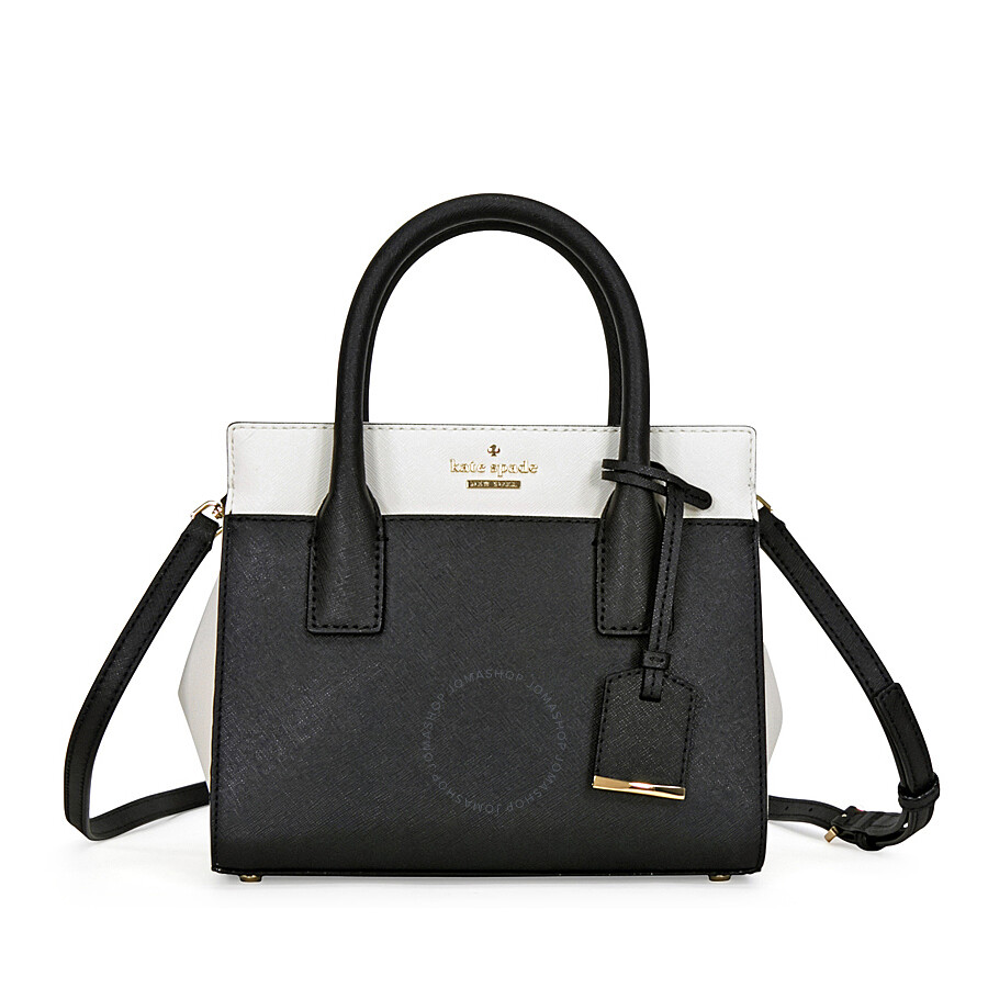 Kate Spade Cameron Street Mini Candace Satchel Black Cement