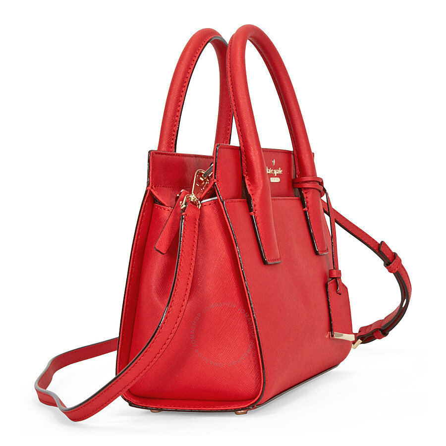 Kate Spade Cameron Street Mini Candace Satchel Rooster Red Kate