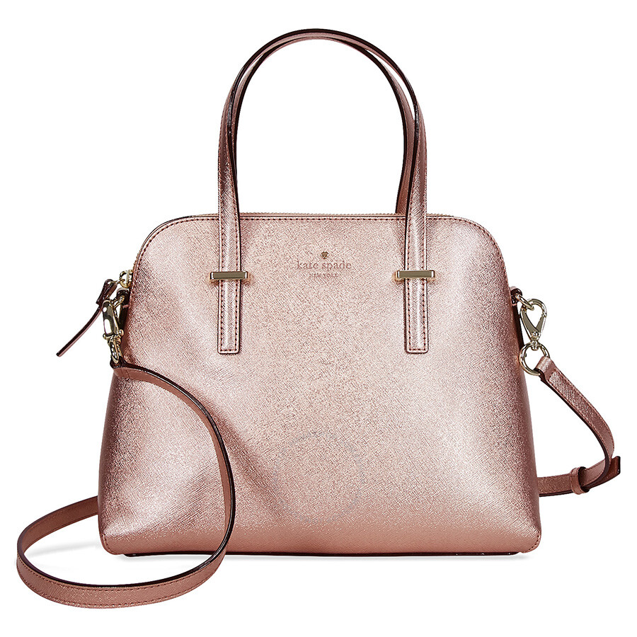 Kate Spade Cedar Street Maise Leather Dome Satchel - Rose ...