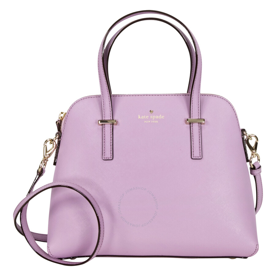 Kate Spade Cedar Street Maise Leather Shoulder Bag Lilac Petal