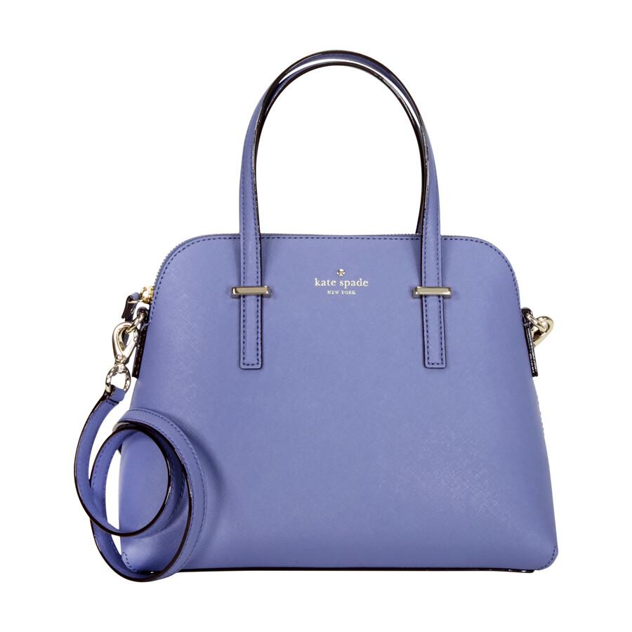 Kate Spade Cedar Street Maise Leather Shoulder Bag Oyster Blue
