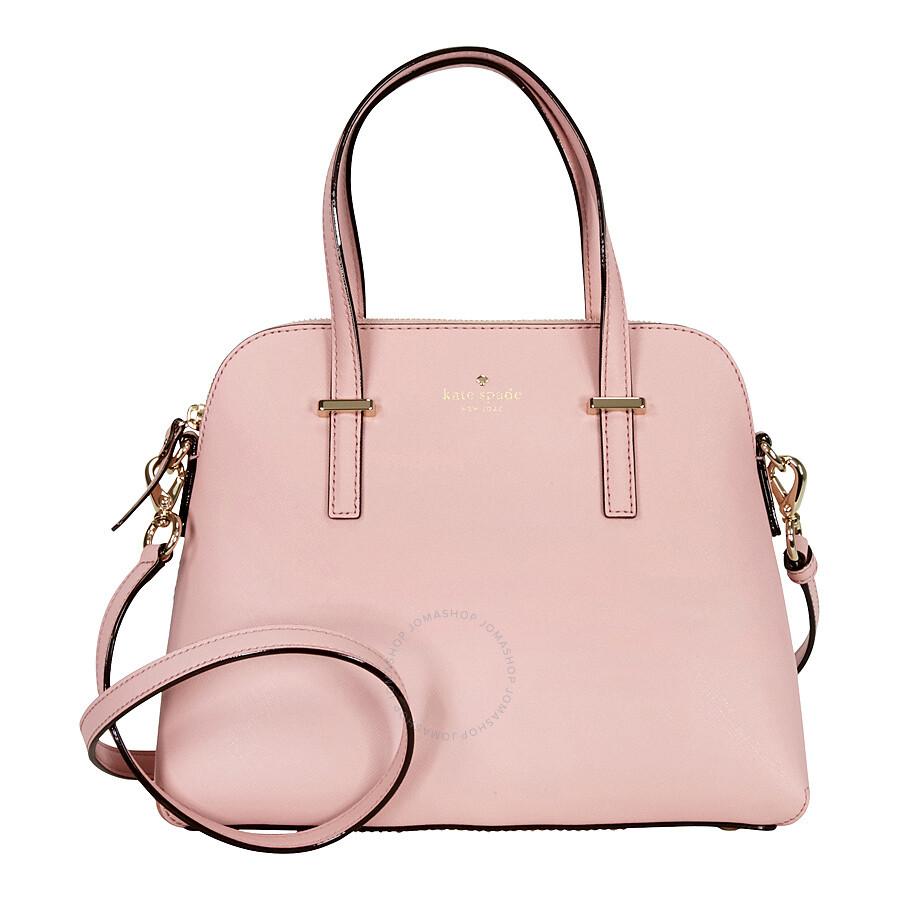 Kate Spade Cedar Street Maise Leather Shoulder Bag Pink Bonnet