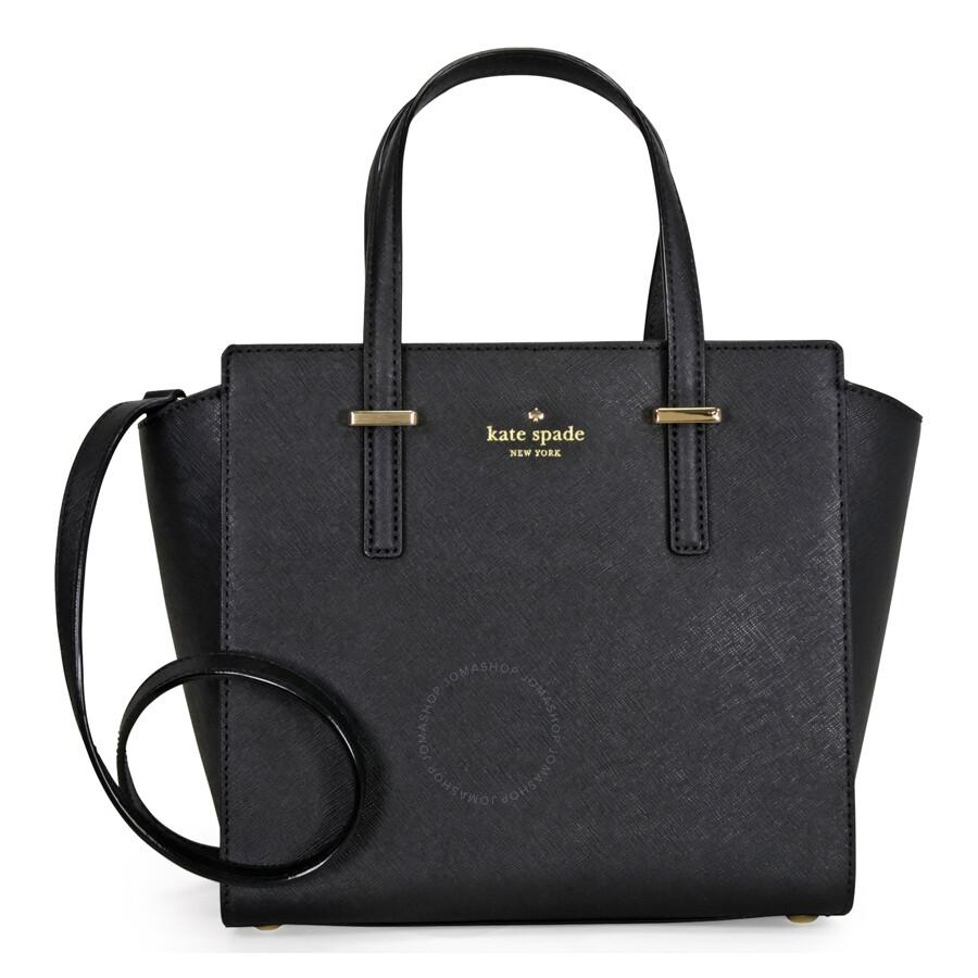 85feaff1b51 Kate Spade Cedar Street Small Hayden Leather Satchel - Black - Kate ...
