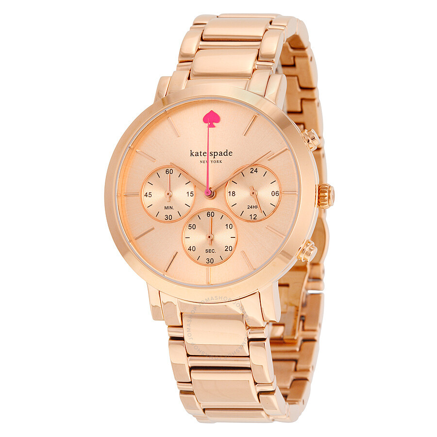 Kate Spade Gramercy Grand Chronograph Las Watch 1yru0716