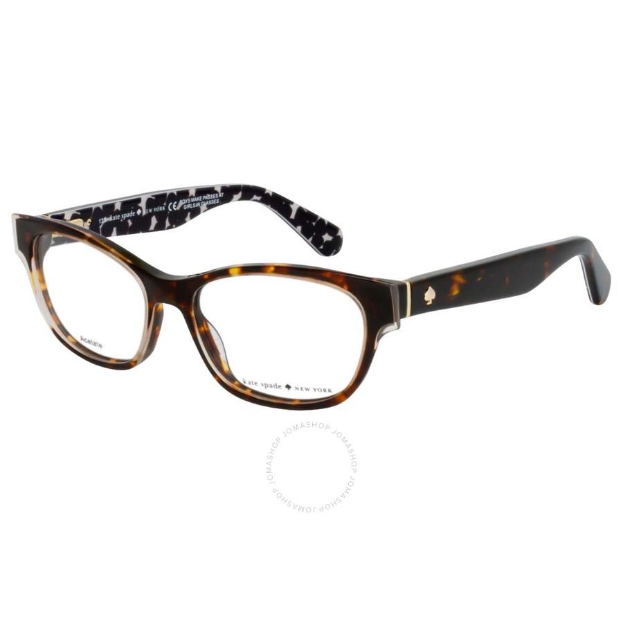 Eyeglasses Kate Spade Josee 0S3P Havana Cream Transparent