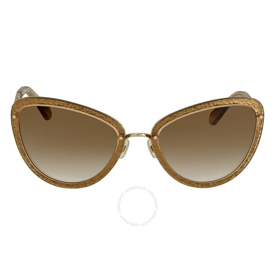 89aa40c5dc5 ... Kate Spade Klaudia Brown Gradient Cat Eye Ladies Sunglasses KLAUDIA S  0CW2 ...