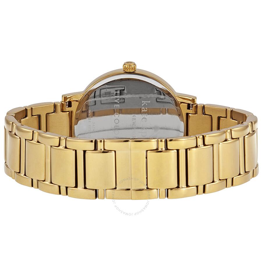 Kate Spade New York Gramercy Grand Pearl Dial Las Watch 1yru0009