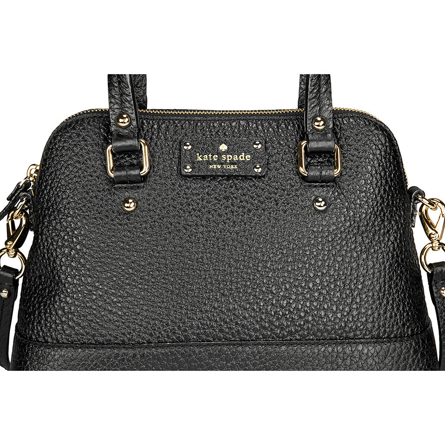 Kate Spade New York Grove Court Maise Crossbody Satchel Bag Black