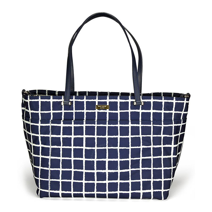 kate spade seaside nylon francis baby diaper bag french navy cream kate spade handbags. Black Bedroom Furniture Sets. Home Design Ideas