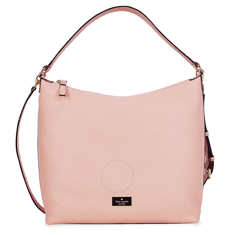 Kate Spade Prospect Place Kaia Hobo Bag Pink Bonnet
