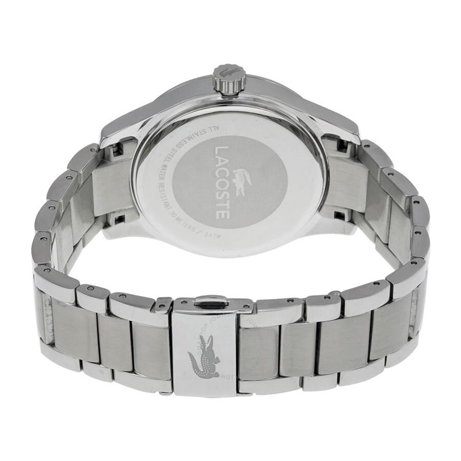 nowy przyjazd najlepsza cena najlepsze podejście Lacoste Sydney Silver Dial Stainless Steel Ladies Watch 2000797