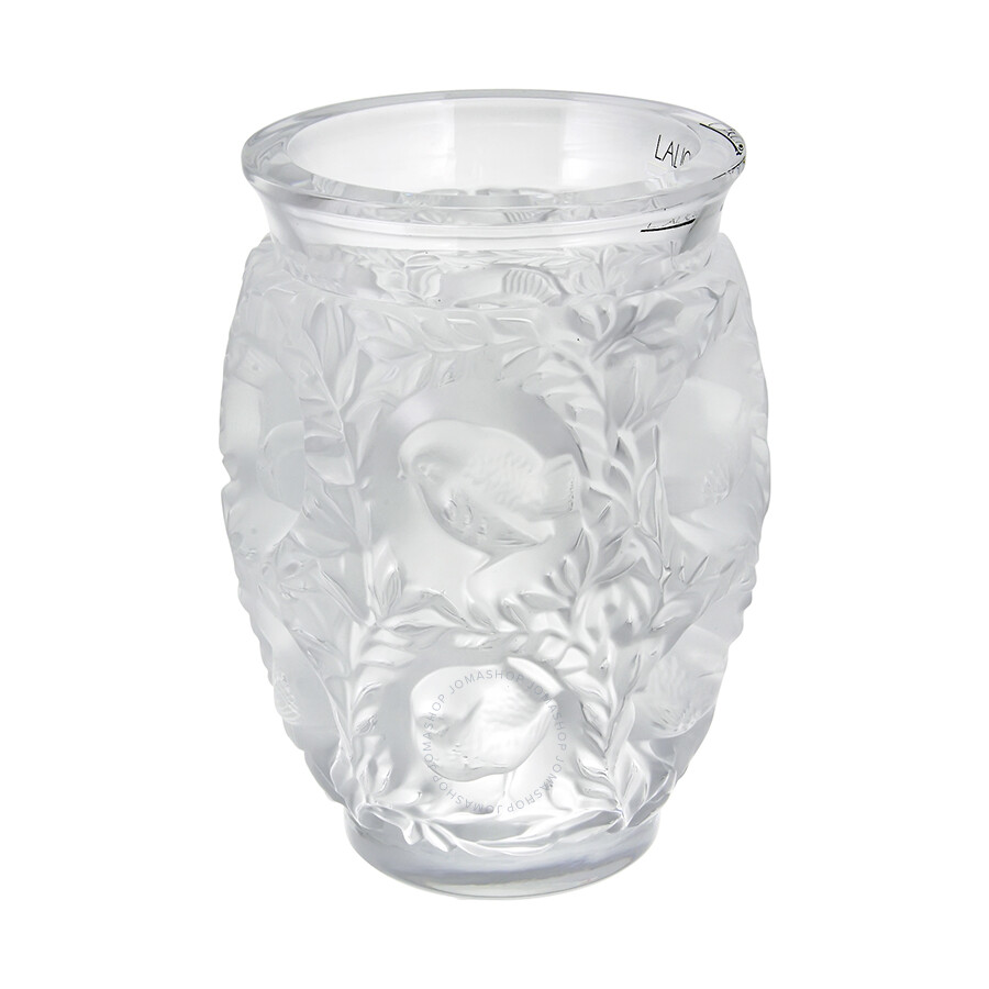 Lalique bagatelle crystal vase 1221900 lalique for Lalique vase