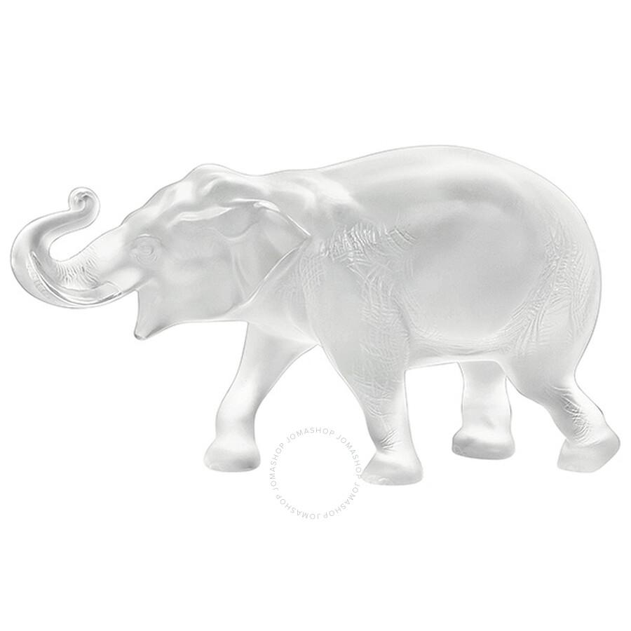 Lalique Crystal Elephant Sumatra 11790 Lalique Crystals