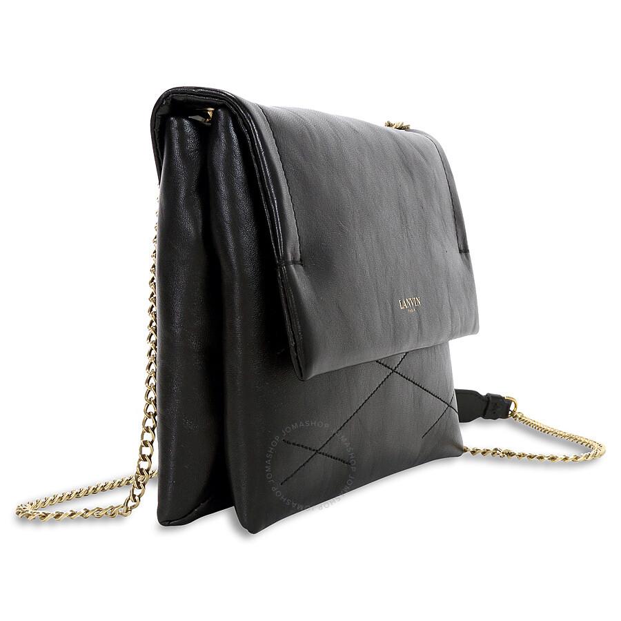 c9bb4d94eb65 Lanvin Mini Sugar Crossbody Bag - Black - Lanvin - Handbags - Jomashop