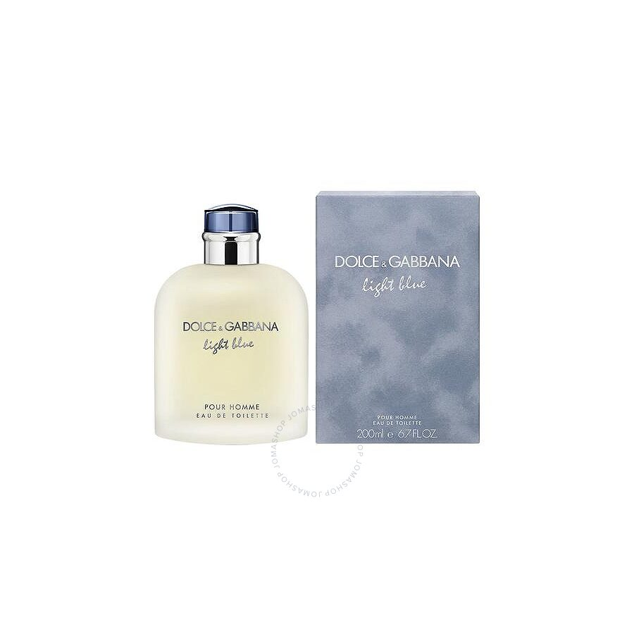 20945b78 Dolce and Gabbana Light Blue Pour Homme / Dolce and Gabbana EDT Spray 6.7  oz (200 ml) (m) Item No. LIGMTS67-A