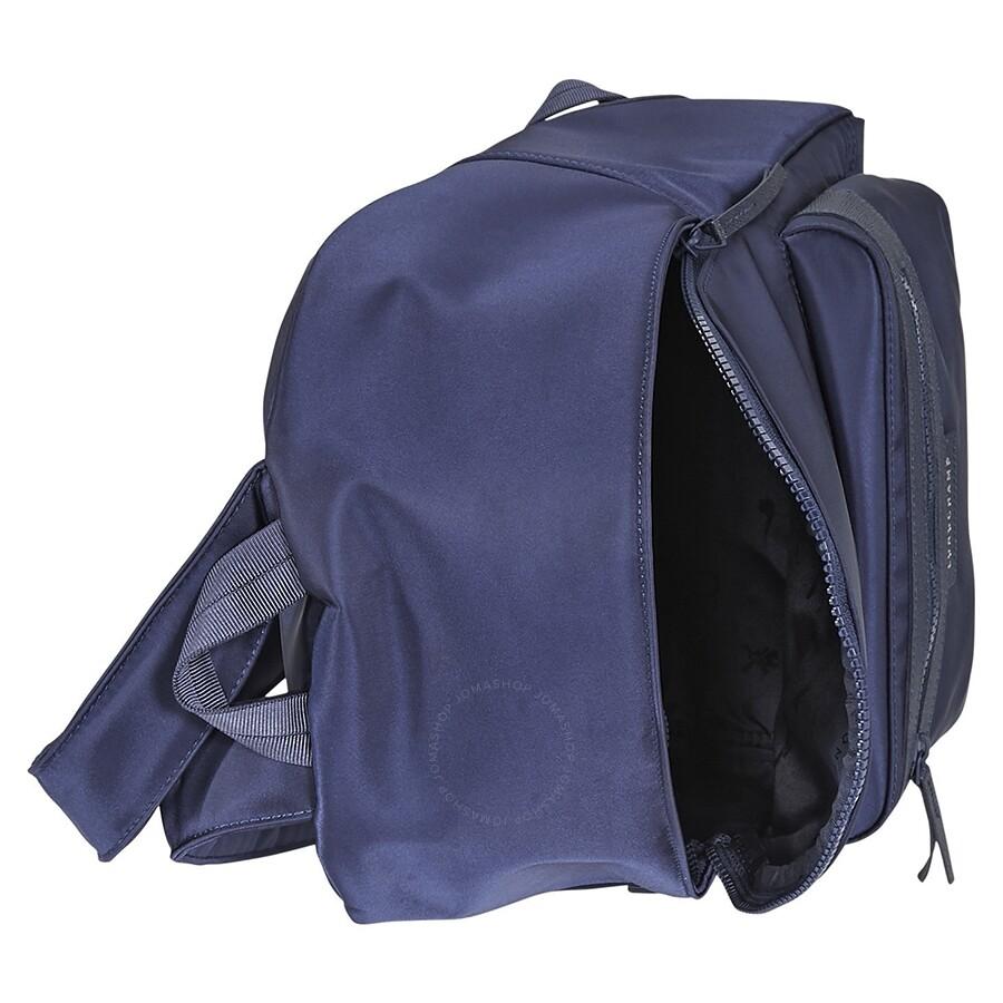 fc9fc6de12cb32 Longchamp Le Pliage Neo Canvas Backpack- Navy - Longchamp - Handbags ...