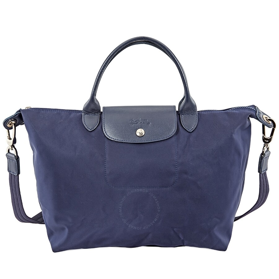 e04b1bcc6fb4 Longchamp Le Pliage Neo Medium Shoulder Bag- Navy Item No. L1515578