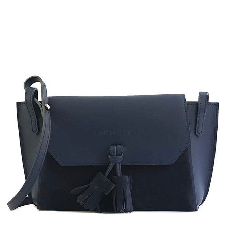 Longchamp Penelope Soft Blue Crossbody Bag