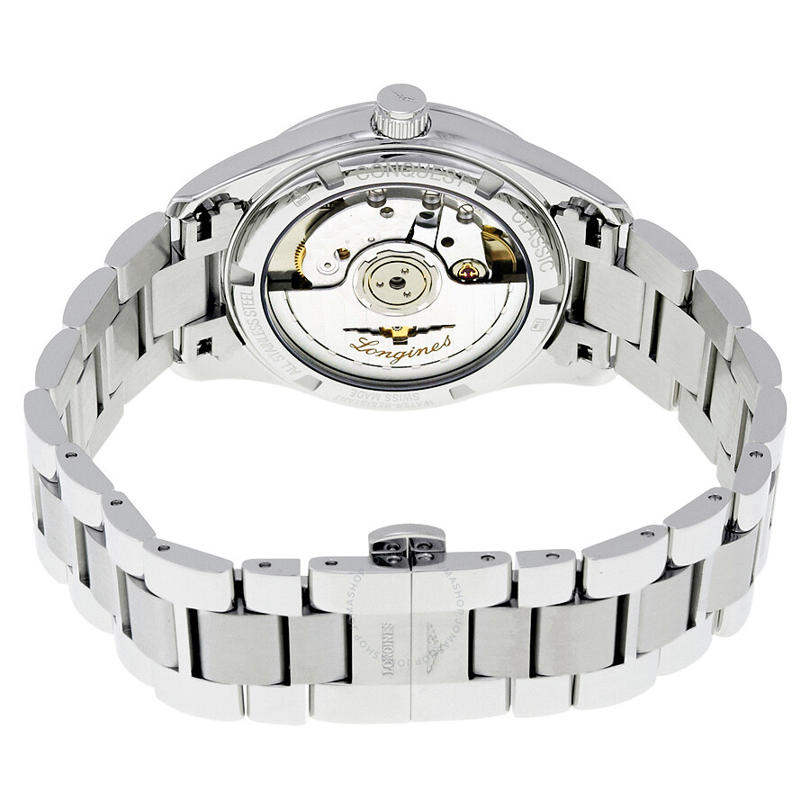 f29829abf ... Longines Conquest Classic Automatic Mother of Pearl Dial Ladies Watch  L23854876