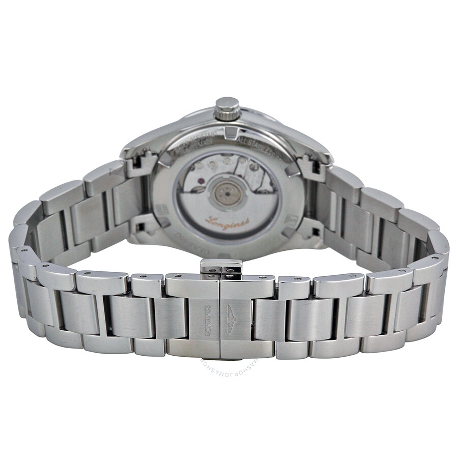 0856a9b7a ... Longines Conquest Classic Automatic Silver Dial Stainless Steel Ladies  Watch L22854766 ...