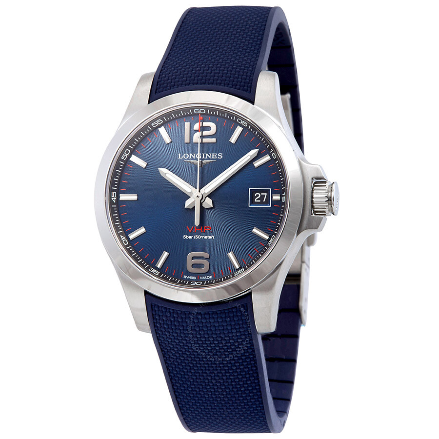 178b17382bd Longines Conquest VHP Blue Dial Men's Watch L37164969 - Conquest ...