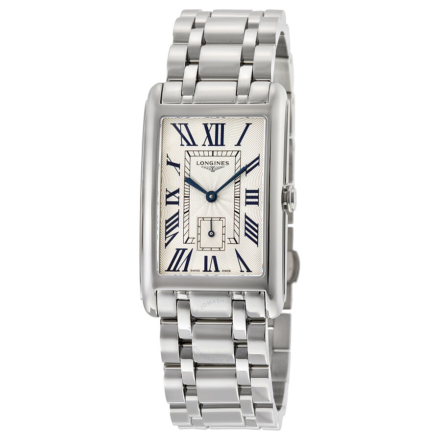 Longines Dolcevita Silver Dial Stainless Steel Ladies Watch L57554716 ... bbc816984bf
