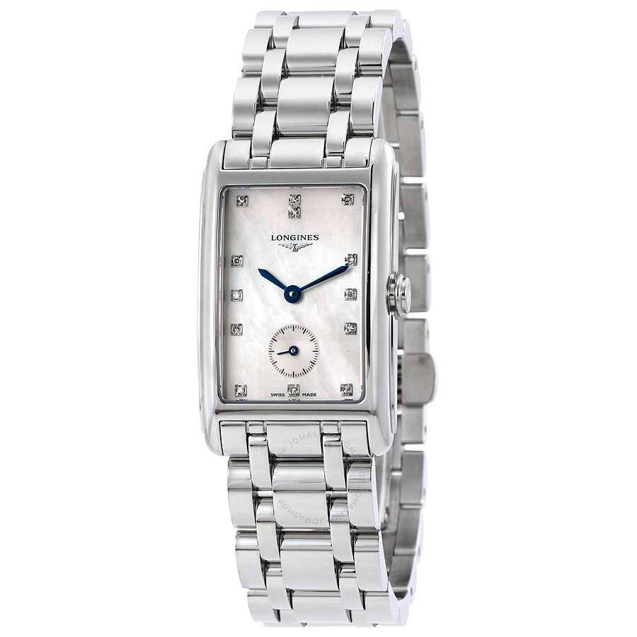 Longines DolceVita White Mother Of Pearl Dial Ladies Watch L5.512.4.87.6 ... 698239f692e