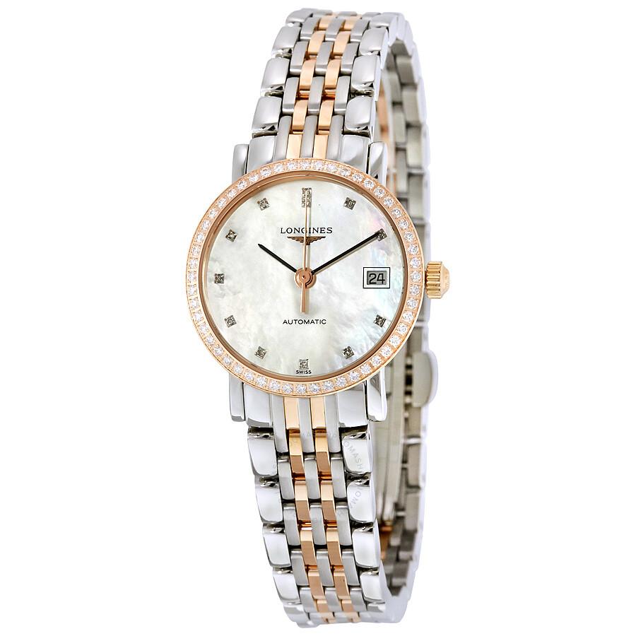 2c1c5f7b1 Longines Eleganrt Collection Automatic Ladies Watch L4.309.5.88.7 ...