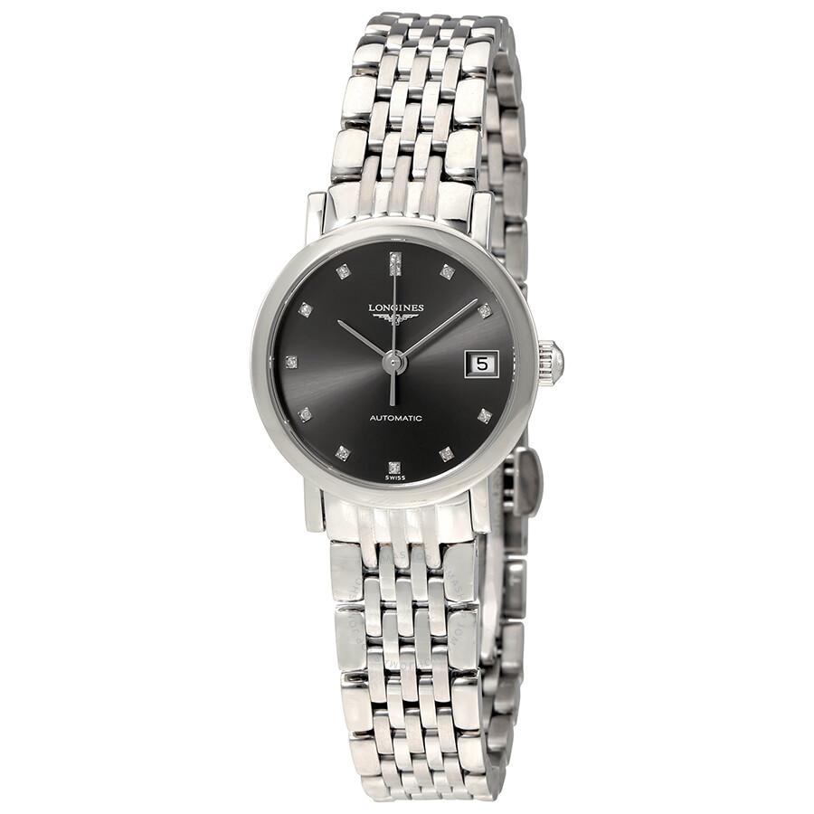 83d111b4fba Longines Flagship Automatic Diamond Ladies Watch L4.309.4.78.6 ...