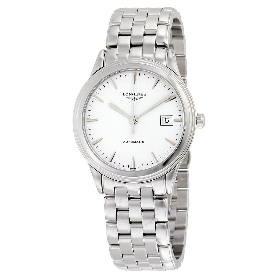18f81f092c9 Longines Flagship Automatic White Dial Stainless Steel Men s Watch  L48744126 Item No. L4.874.4.12.6
