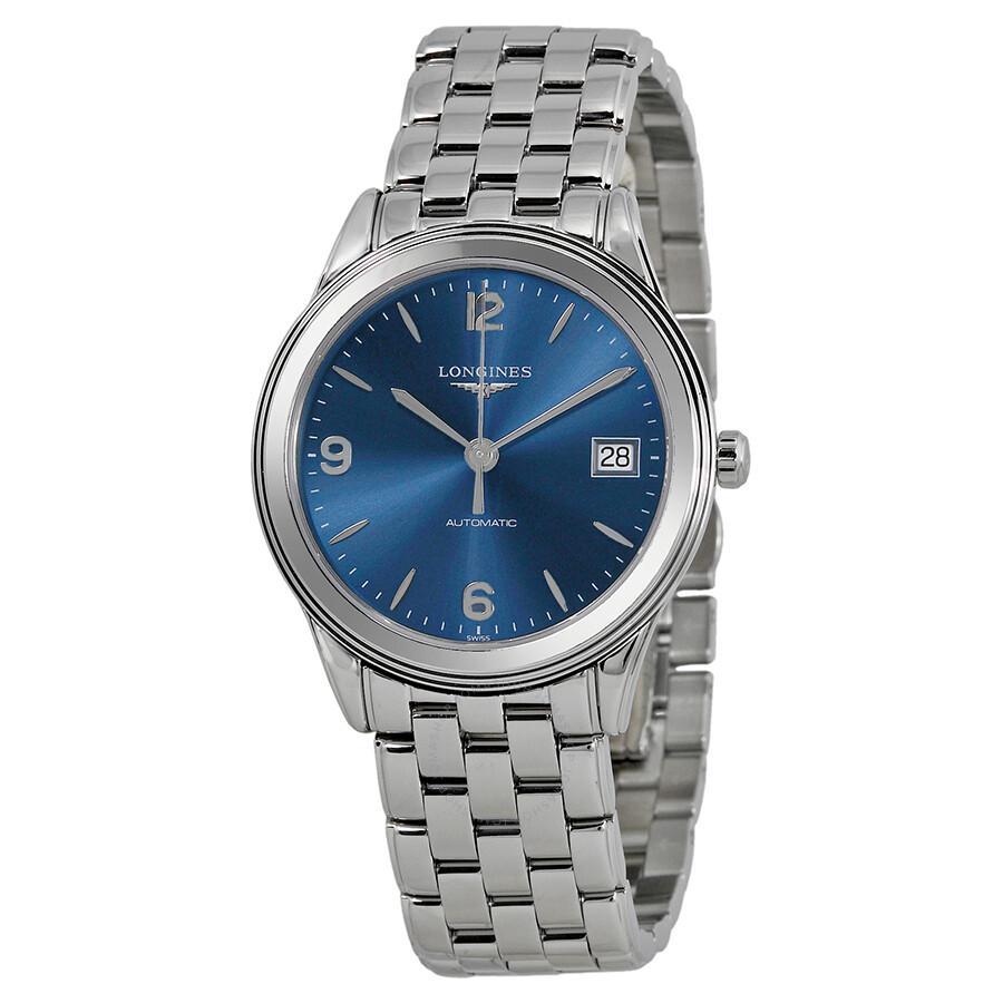 b52b2939402 Longines Flagship Heritage Automatic Blue Dial Men s Watch L47744966 Item  No. L4.774.4.96.6