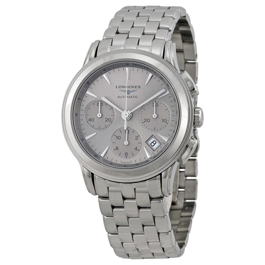 8a1144ec454be Longines Flagship Silver Dial Chronograph Automatic Men s Watch L48034726  Item No. L4.803.4.72.6
