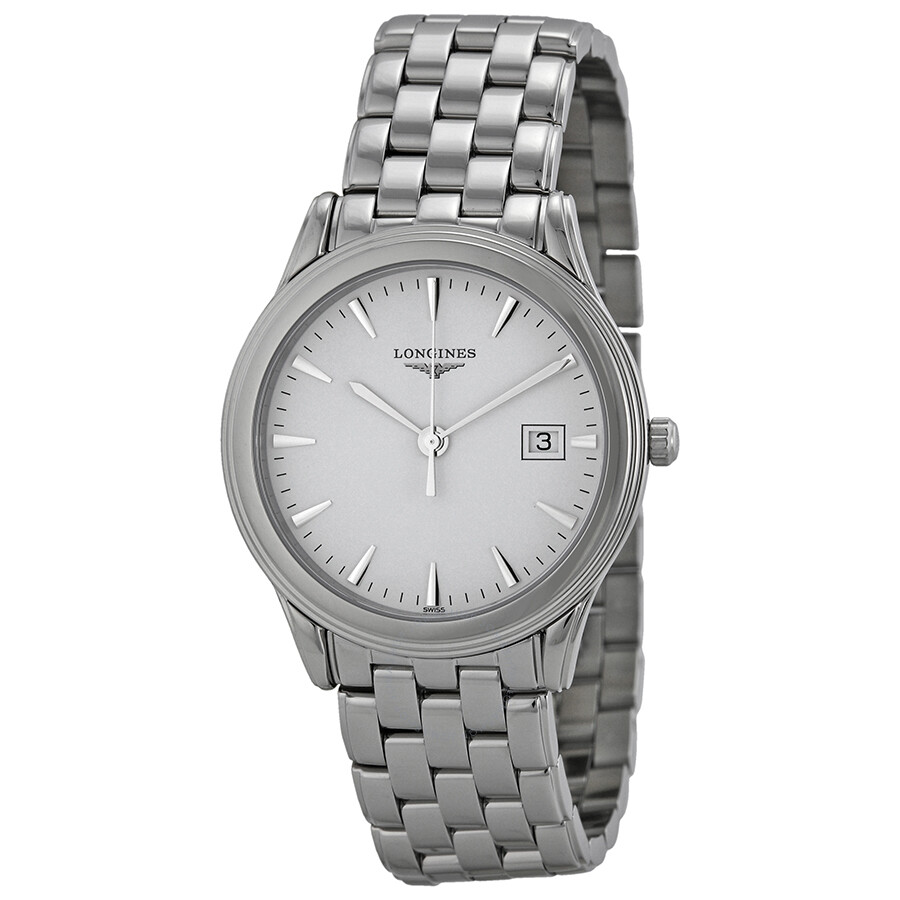 longines flagship watches jomashop longines flagship white dial stainless steel men s watch