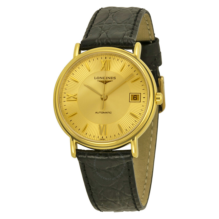 longines gold tone automatic s 48212452 la