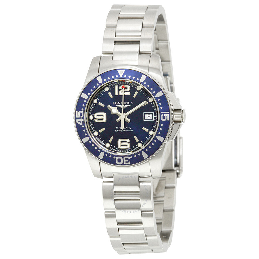 Longines Hydroconquest Automatic Blue Dial Ladies Watch