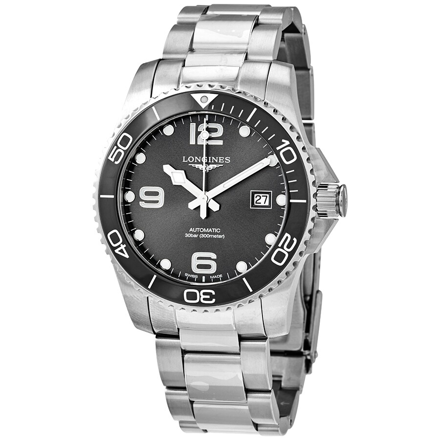 Longines Hydroconquest Automatic >> Longines Hydroconquest Automatic Men S Watch L3 781 4 76 6