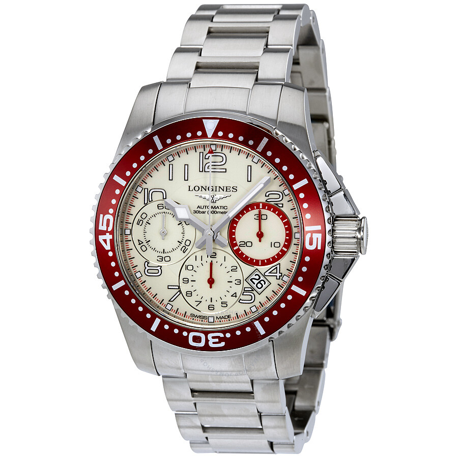 Longines HydroConquest Chronograph Automatic Men's Watch ...