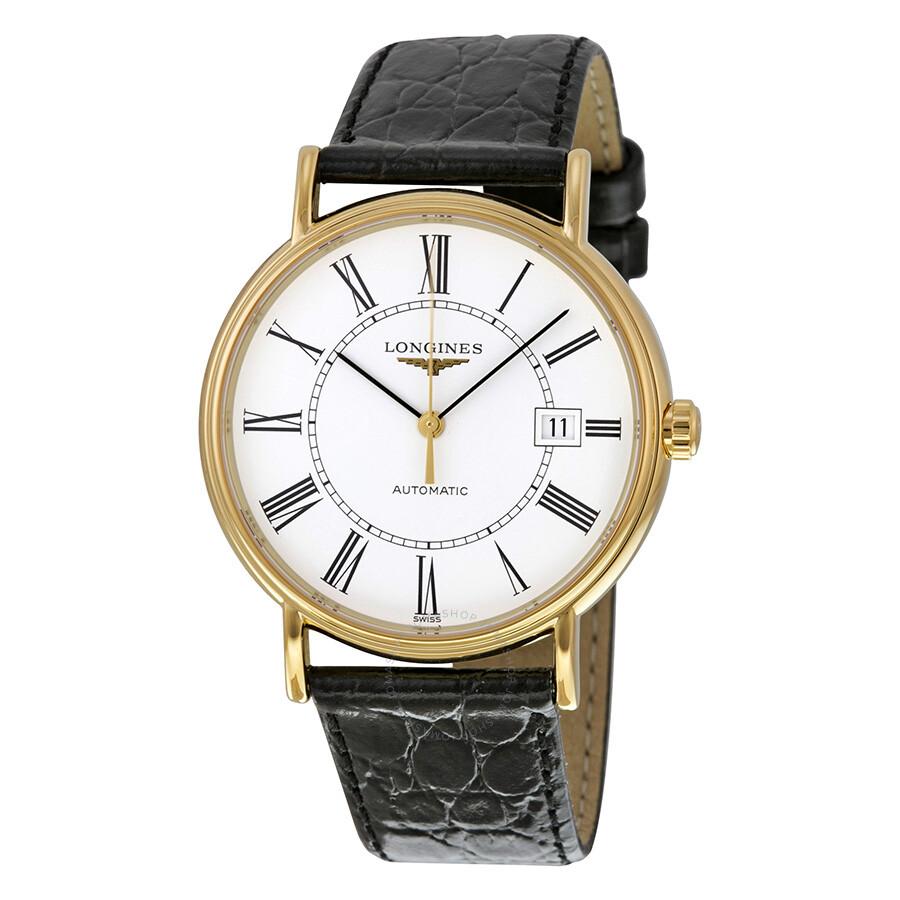 Longines la grande classic automatic white dial men 39 s watch 49212112 la grande classique de for Watches gold