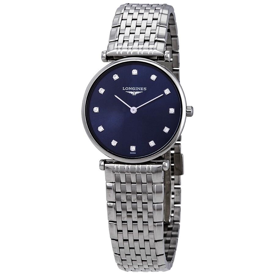 La Grande Classique Sunray Blue Diamond Dial Ladies Watch L4.512.4.97.6