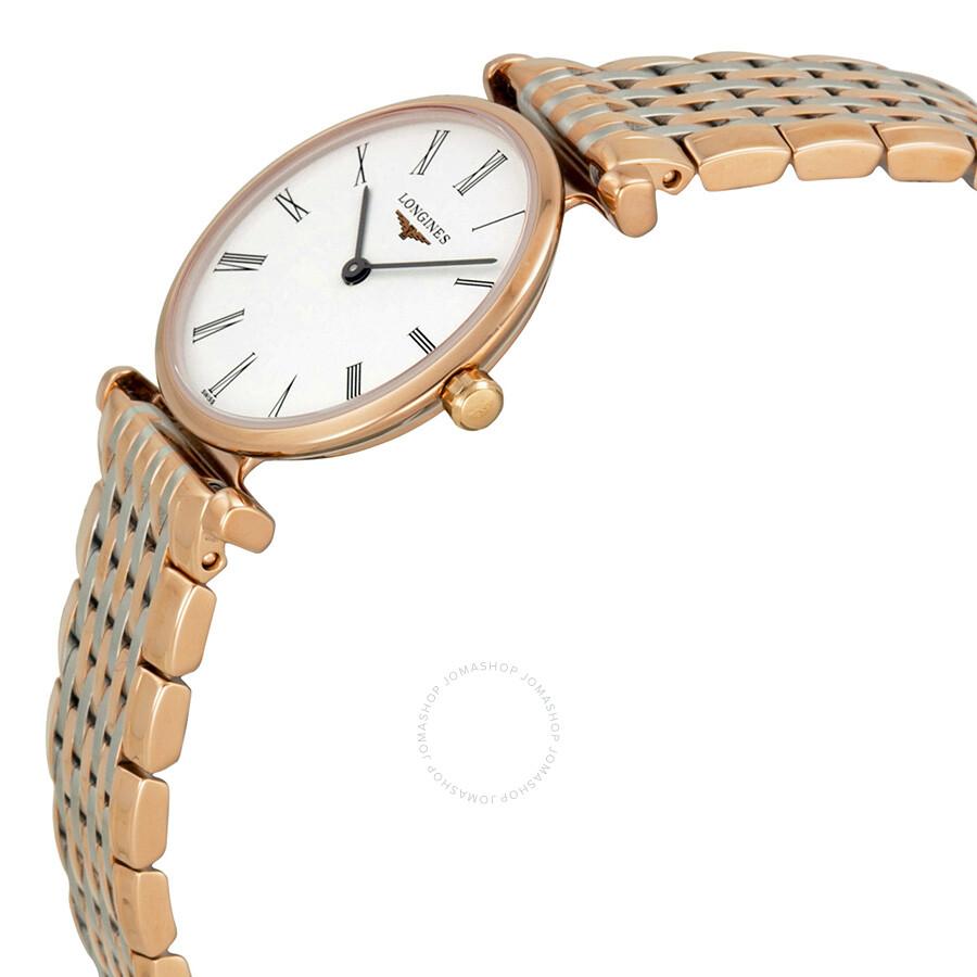 La Grande Classique White Dial Two-tone Ladies Watch L42091917