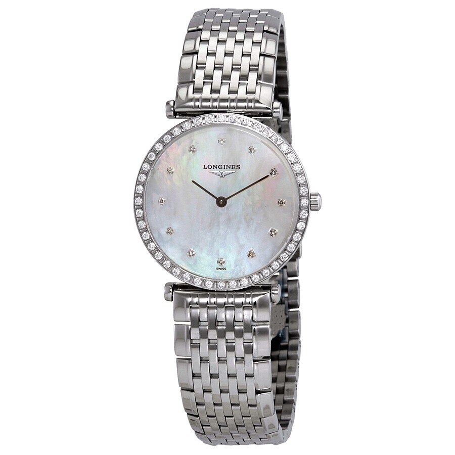 La Grande Classique White Mother of Pearl Dial Ladies Watch L4.523.0.87.6