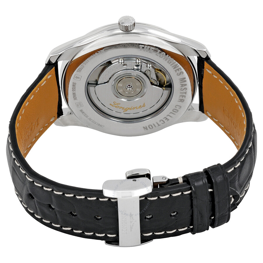 Longines Master Automatic Black Dial Men s Watch L2.893.4.51.7 ... 9d2ddce6c9