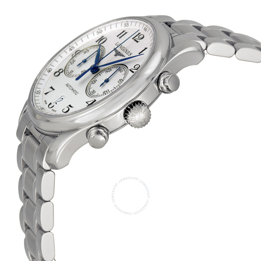 ... Longines Master Chronograph Automatic Silver Dial Stainless Steel Men's Watch  L2.629.4.78.6 ...