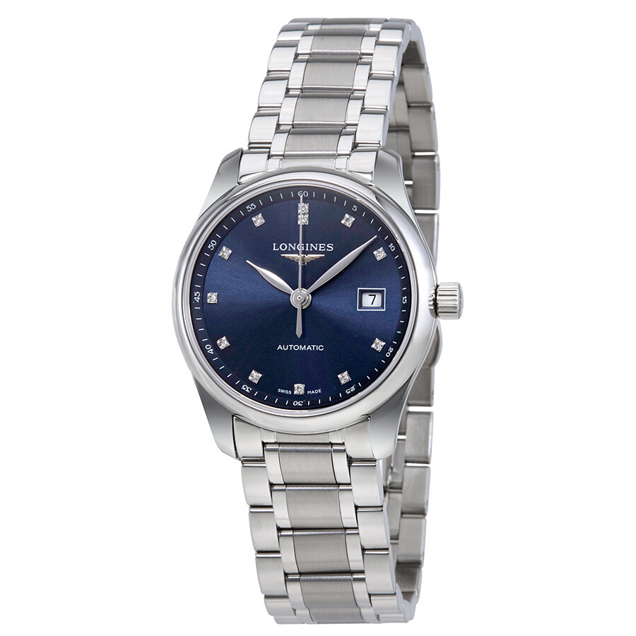 309521ec1618b Longines Master Collection Automatic Blue Dial Ladies Watch L2.257.4.97.6  ...