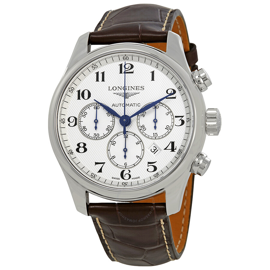 Longines Master Collection Chronograph Automatic White Dial Men's Watch L2.859.4.78.3  ...