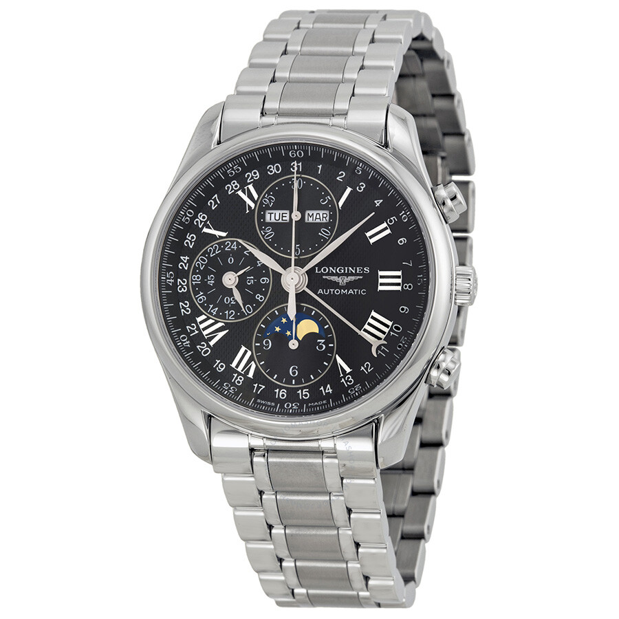 Longines master collection chronograph men 39 s watch l26734516 master collection longines for Chronograph master
